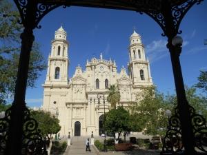 Catedral desde el Kiosco, Hermosillo.