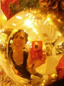 Susana Torres y su selfie navideño.