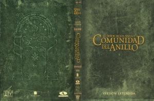 El Senor De Los Anillos La Comunidad Del Anillo Version Extendida Por Ronchy - dvd