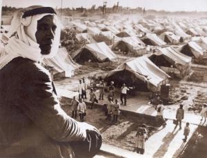 Los campos de refugiados tras la primera guerra árabe-israelí en 1948
