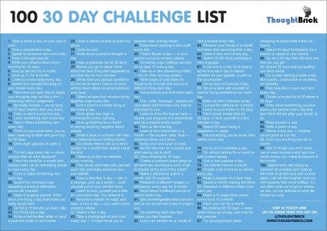 Ideas para retos de 30 días.deas2