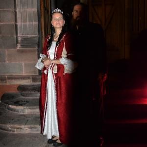 El Emperador y la Emperatriz de México.