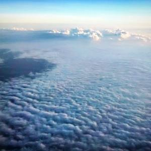 De vuelta al cielo.