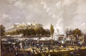 La Batalla por el Castillo.
