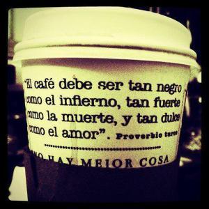 El café debe ser...