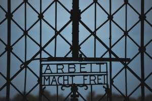 dachau sign afp